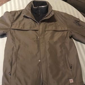 Men's Weatherproof Coat Green Size M